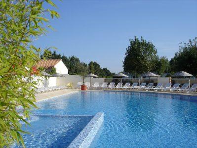 PLEIN SUD-La piscine du camping PLEIN SUD-SAINT JEAN DE MONTS