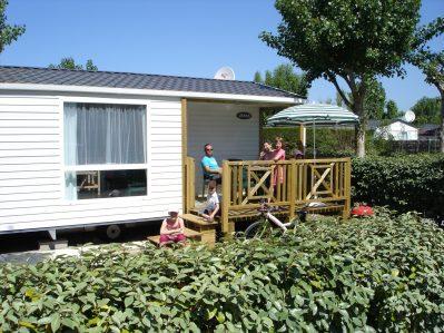 PLEIN SUD-Les mobil-homes du camping PLEIN SUD-SAINT JEAN DE MONTS