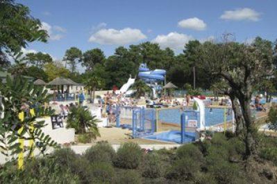 PALMYRE LOISIRS-Le parc aquatique du camping PALMYRE LOISIRS-MATHES