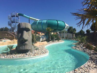 LE BOIS JOLY-La piscine du camping LE BOIS JOLY-SAINT JEAN DE MONTS