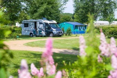 L'ETANG-Les emplacements du camping L'ETANG-BRISSAC QUINCE
