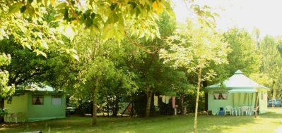 LAC DE LISLEBONNE-Les hébergements insolites du camping LAC DE LISLEBONNE-REAUP LISSE