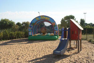 LAC DE SAUJON-Espace jeux pour les enfants-SAUJON