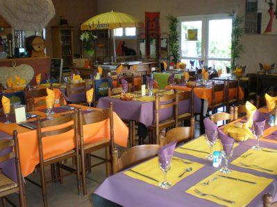 LAC DE SAUJON-Le restaurant du camping LAC DE SAUJON-SAUJON