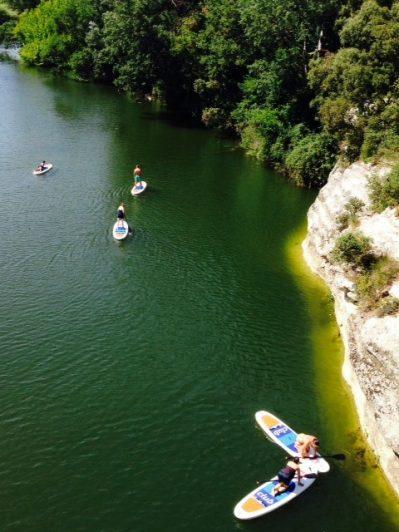 DOMAINE DE MASSEREAU-Accès direct à la rivière dans le Gard-SOMMIERES