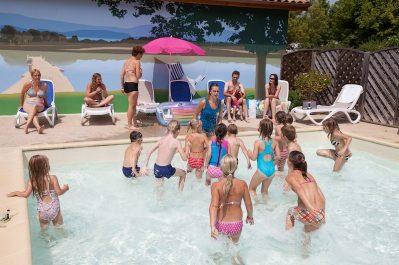 CAMPING BRANTOME PEYRELEVADE-La piscine du camping CAMPING BRANTOME PEYRELEVADE-BRANTOME