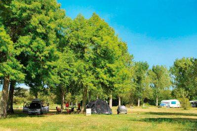 AURILANDES-Le camping AURILANDES, les Landes-AUREILHAN