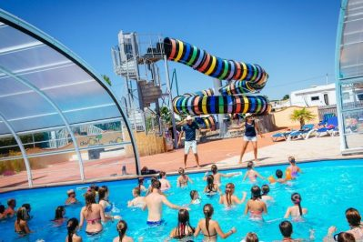 BAHAMAS BEACH-Le parc aquatique du camping BAHAMAS BEACH-SAINT GILLES CROIX DE VIE