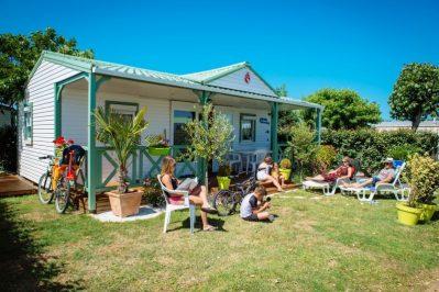 BAHAMAS BEACH-Les mobil-homes du camping BAHAMAS BEACH-SAINT GILLES CROIX DE VIE