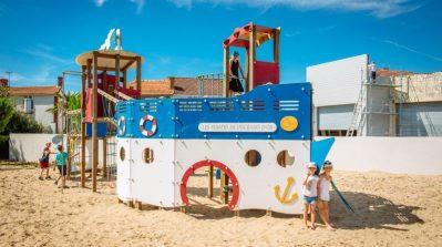 L'OCEANO D'OR-Espace jeux pour les enfants-JARD SUR MER