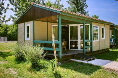 LE LIDON-Les chalets du camping LE LIDON-SAINT HILAIRE LA PALUD