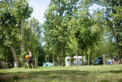 LE LIDON-Les emplacements du camping LE LIDON-SAINT HILAIRE LA PALUD