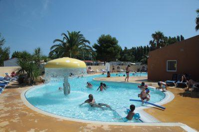 LES JARDINS CATALANS-Le parc aquatique du camping LES JARDINS CATALANS-ARGELES SUR MER
