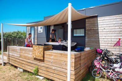 LA DUNE DES SABLES-Les mobil-homes du camping LA DUNE DES SABLES-SABLES D'OLONNE