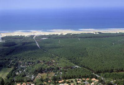 LE MOISAN-Le camping LE MOISAN, das Departement Landes-MESSANGES