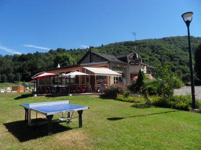 LE MOULIN DE SERRE-La réception du camping LE MOULIN DE SERRE-SINGLES