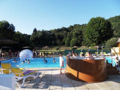 LE MOULIN DE SERRE-La piscine du camping LE MOULIN DE SERRE-SINGLES