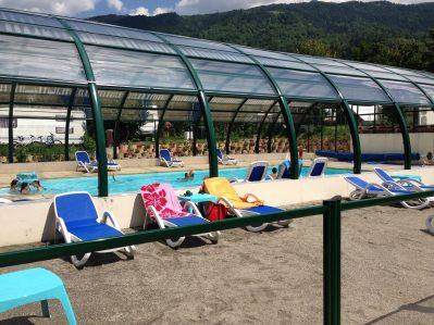 L'EDEN DE LA VANOISE-La piscine couverte et chauffée du camping L'EDEN DE LA VANOISE-LANDRY