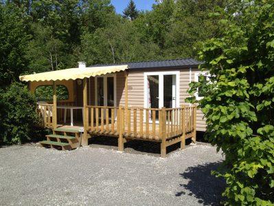 L'EDEN DE LA VANOISE-Les mobil-homes du camping L'EDEN DE LA VANOISE-LANDRY