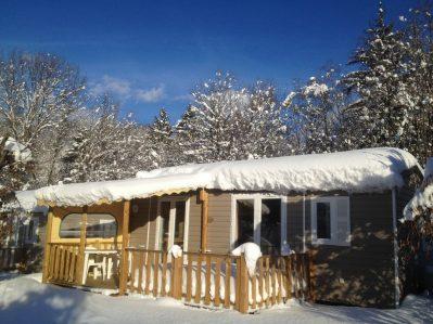 L'EDEN DE LA VANOISE-Hébergements haut de gamme du camping L'EDEN DE LA VANOISE-LANDRY