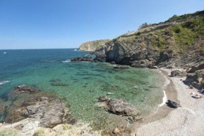 LES CRIQUES DE PORTEILS-La plage-ARGELES SUR MER