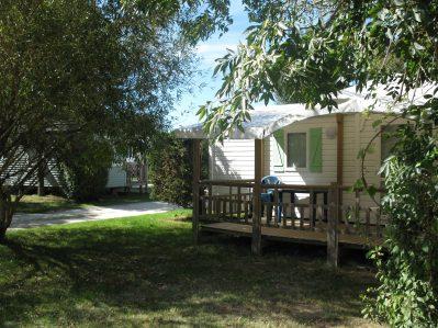 AU BON AIR-Les mobil-homes du camping AU BON AIR-MARENNES