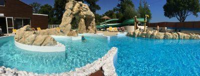 LE PATISSEAU-La piscine à remous du camping LE PATISSEAU-PORNIC
