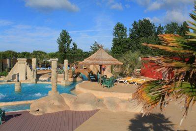 ACAPULCO-Le parc aquatique du camping ACAPULCO-SAINT JEAN DE MONTS