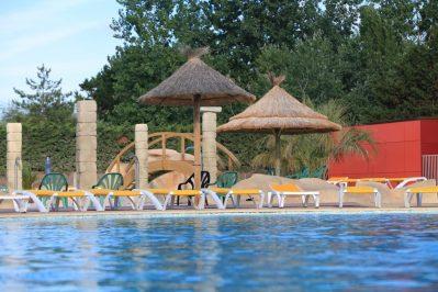 LES TOURNELS-La piscine du camping LES TOURNELS-RAMATUELLE