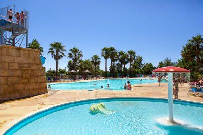 L'AIR MARIN-Jeux aquatiques au camping L'AIR MARIN, l'Hérault-VIAS