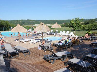 LES PASTOURELS-Le camping LES PASTOURELS, la Dordogne-VEYRINES DE DOMME