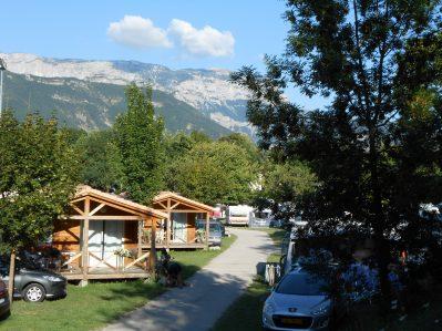 CAMP MUNICIPAL DE JUSTIN-Le camping CAMP MUNICIPAL DE JUSTIN, la Drôme-DIE