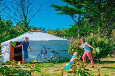 LA COTE SAUVAGE-Les hébergements insolites du camping LA COTE SAUVAGE-SAINT CLEMENT DES BALEINES