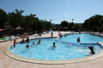 LA ROUBINE-Le parc aquatique du camping LA ROUBINE-VALLON PONT D'ARC