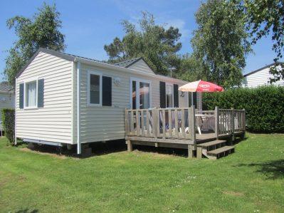 KERVILOR-Les mobil-homes du camping KERVILOR-TRINITE SUR MER