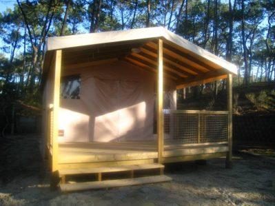 CAMPING MUNICIPAL LES SABLERES-Les hébergements insolites du camping CAMPING MUNICIPAL LES SABLERES-VIEUX BOUCAU LES BAINS