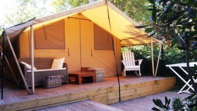 CLAIR DE LUNE-Le camping CLAIR DE LUNE, das Departement Var-HYERES