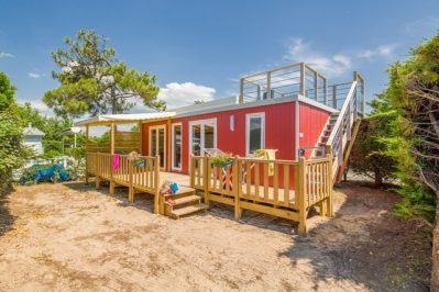 LA POMME DE PIN-Hébergements haut de gamme du camping LA POMME DE PIN-SAINT HILAIRE DE RIEZ