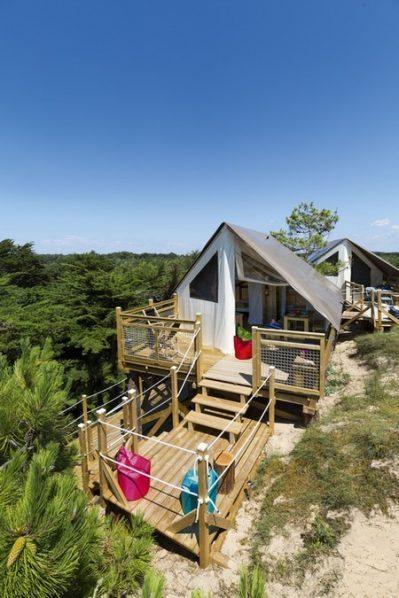 LA POMME DE PIN-Les hébergements insolites du camping LA POMME DE PIN-SAINT HILAIRE DE RIEZ