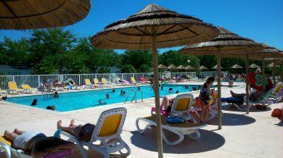 SOLEIL LEVANT-La piscine du camping SOLEIL LEVANT-MESCHERS SUR GIRONDE