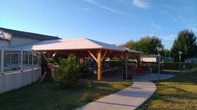 SOLEIL LEVANT-Le restaurant du camping SOLEIL LEVANT-MESCHERS SUR GIRONDE