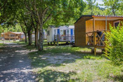 LES 2 VALLEES-Un parc locatif ombragé l'Aveyron-NANT