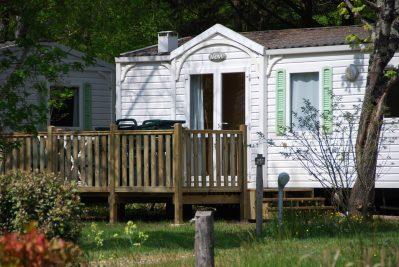LA SAGNE-Les mobil-homes du camping LA SAGNE-VITRAC