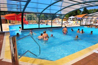LA TREVILLIERE-La piscine du camping LA TREVILLIERE-BRETIGNOLLES SUR MER