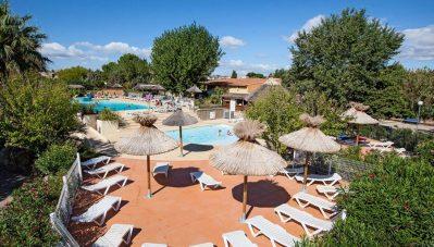 BEAU RIVAGE-La piscine du camping BEAU RIVAGE-MEZE