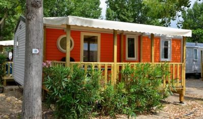 EDEN CAMPING-Les mobil-homes du camping EDEN CAMPING-LATTES