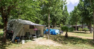 EDEN CAMPING - Les emplacements du camping EDEN CAMPING - LATTES