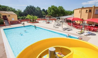 EDEN CAMPING-La piscine du camping EDEN CAMPING-LATTES