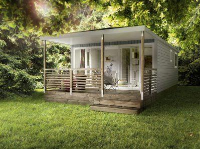 LA FARIGOULETTE-Les mobil-homes du camping LA FARIGOULETTE-SAINT LAURENT DU VERDON