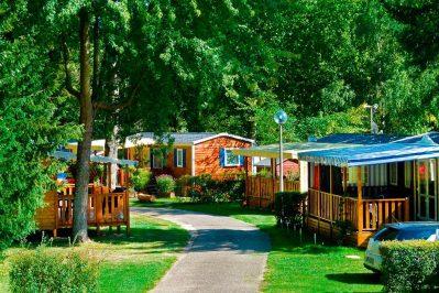 LE PARC DE LA FECHT-Le camping LE PARC DE LA FECHT, das Departement Haut-Rhin-MUNSTER